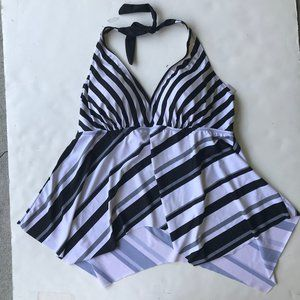 Swimsuits for all Tankini Top Handkerchief Hem 20